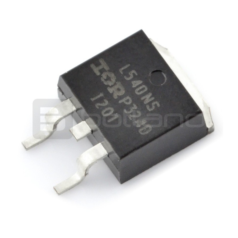 Transistor N-MOSFET IRL540N - SMD