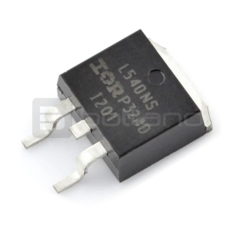Tranzystor N-MOSFET IRL540N - SMD