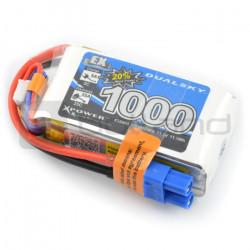 Pakiet LiPol Dualsky 1000mAh 35C 3S 11.1V