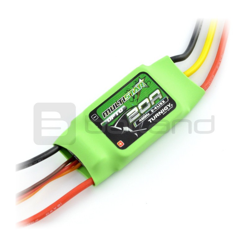 Brushless brush driver Turnigy Multistar BLHeli OPTO 20A 2-4S