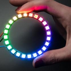 Adafruit NeoPixel Ring - pierścień LED RGB 24 x WS2812 5050