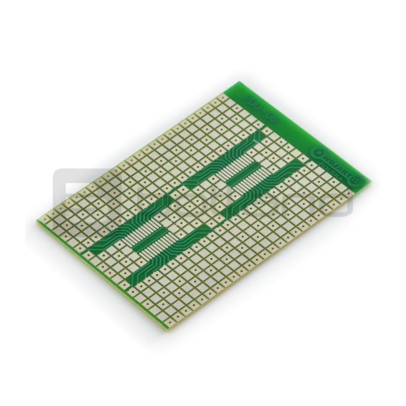 Płytka uniwersalna PDU06 - THT + SMD 1206, SO-24