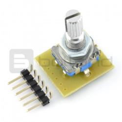 Przełącznik obrotowy, impulsator, enkoder z przetwornikiem - MOD-16