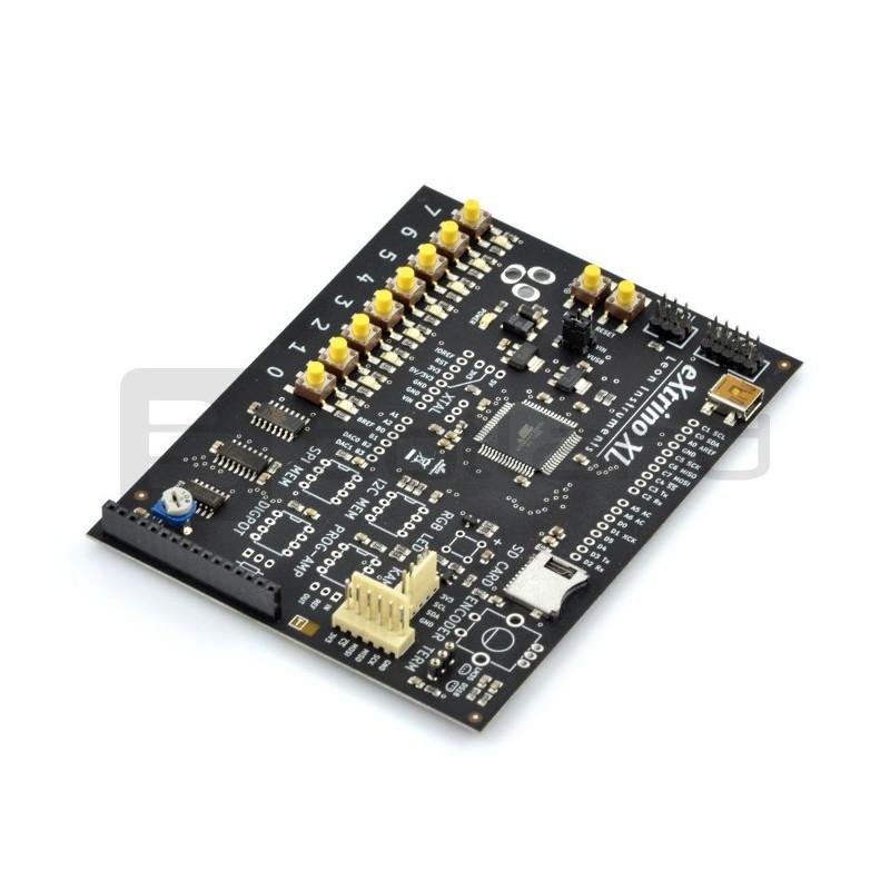 Moduł eXtrino SMD v12 z mikrokontrolerem ATXmega128A3U + darmowy kurs ONLINE