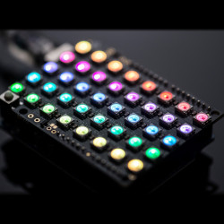 Adafruit NeoPixel Shield - 40 RGB LED - panel for Arduino