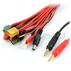 Multi adapter wtyki bananowe - deans / tamiya / BEC / G2 / Serwo / XT60 / TRX / MPX / DC 2.1 mm