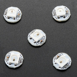 Adafruit NeoPixel Mini PCB - 5 x dioda LED RGB WS2812B 5050