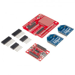 SparkFun XBee Wireless Kit, for wireless communication
