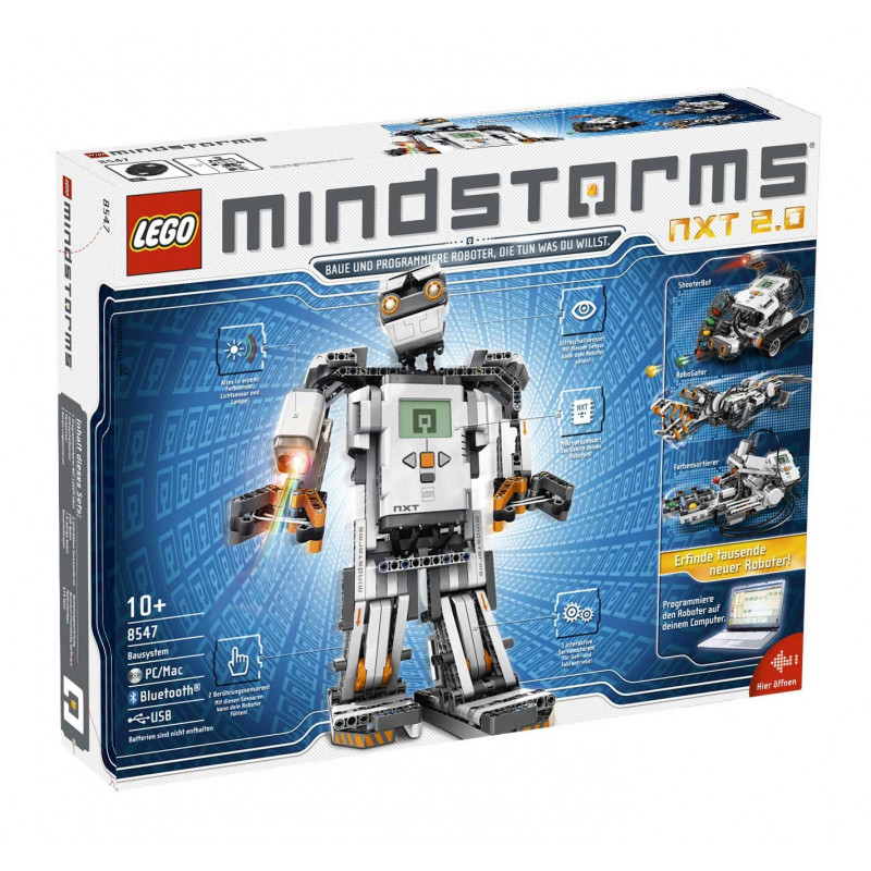 Lego Mindstorms NXT 2.0 8547 - zestaw startowy