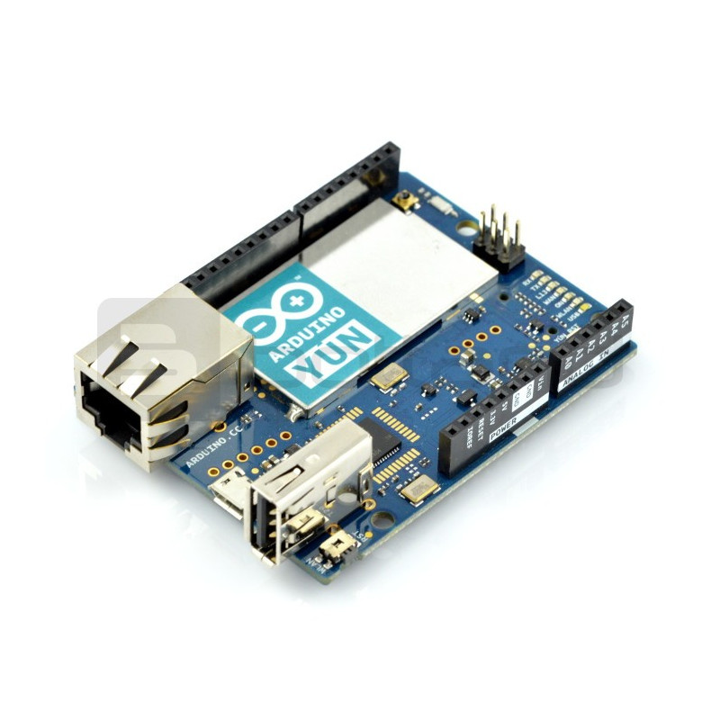 Arduino Yun - WiFi + Ethernet