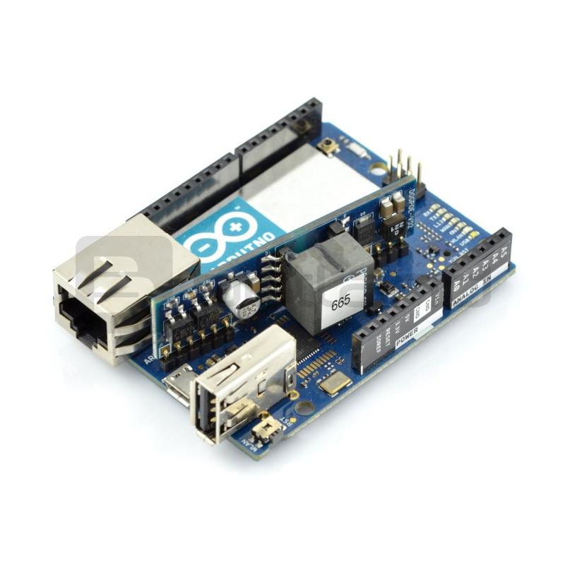 Arduino Yún - WiFi + Ethernet + PoE