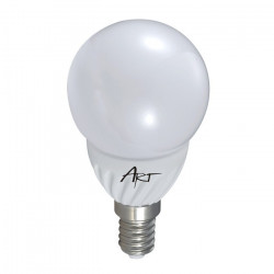Żarówka LED ART, bańka mleczna, E14, 3,5W, 230lm
