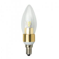 Żarówka LED ART, świecowa clear, E14, 3W, 320lm