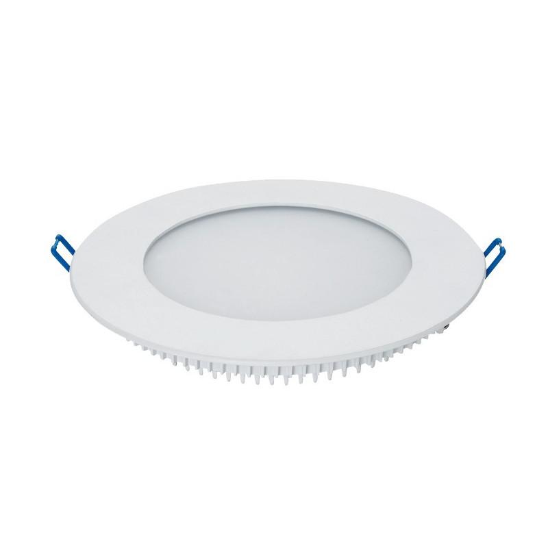 Panel LED ART podtynkowy okrągły 108mm, 6W, 400lm, barwa ciepła