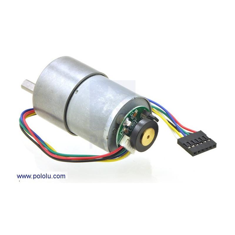 Silnik z przekładnią 37Dx52L 19:1 + enkoder CPR 64