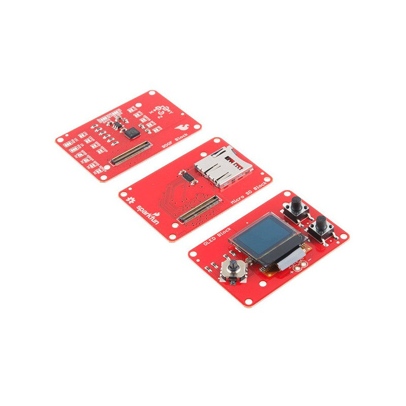 Sensor kit for Intel Edison - SparkFun Block_
