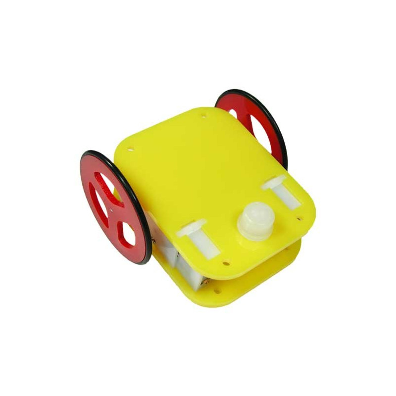 Ball Caster trio mini - plastic - 3szt.