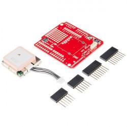 GPS Shield dla Arduino - zestaw z odbiornikiem GPS EM-506