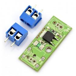 Moduł stablizatora LF33 - 3,3 V z bezpiecznikiem 500 mA - MOD-06/3V3
