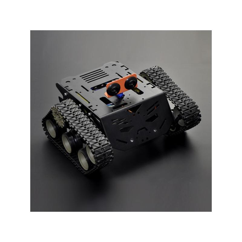 DFRobot Devastator - gąsięnicowe podwozie robota z napędem