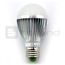 Żarówka LED LTC, E27, 7W, 595lm, barwa ciepła