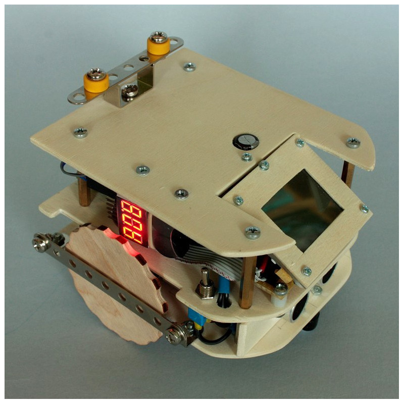 PiBotta - mobile robot chassis for Raspberry Pi + ONLINE course