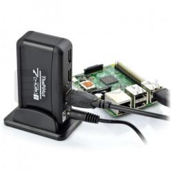 HUB USB 2.0 aktywny hub 7-porty z zasilaczem 5V2A zgodny Raspberry Pi
