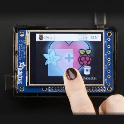 """PiTFT Plus MiniKit - wyświetlacz dotykowy rezystancyjny 2.8"""" 320x240 dla Raspberry Pi 2/A+/B+"""