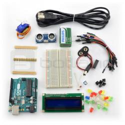 Podstawy Arduino - zestaw elementów + bezpłatny kurs ON-LINE