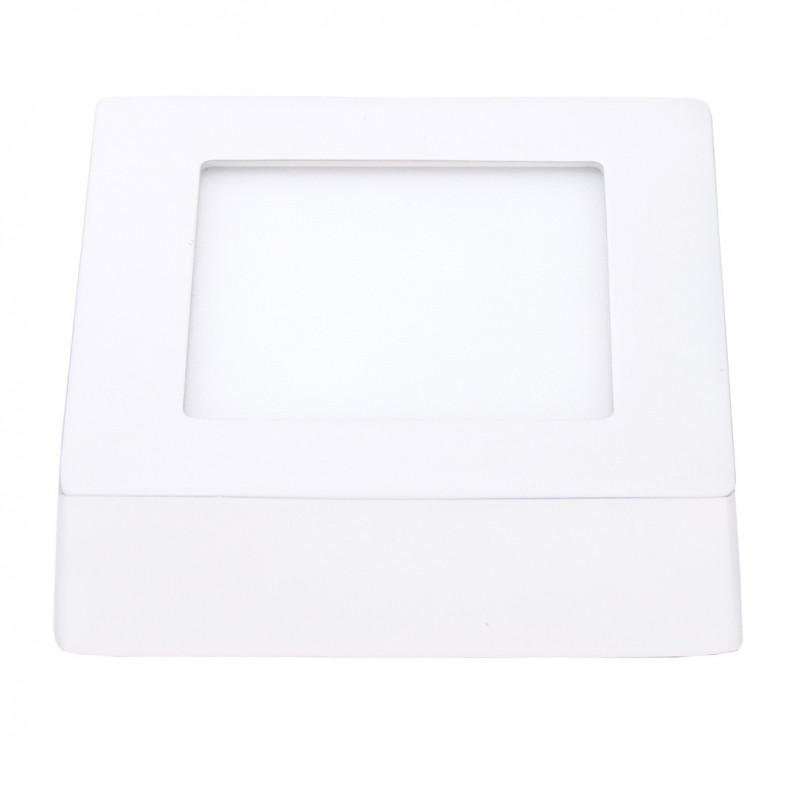 Panel LED ART natynkowy kwadratowy 120mm, 6W, 360lm, barwa ciepła