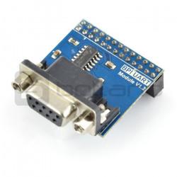 Konwerter RS232 - UART ze złączem DB9 do Banana Pi