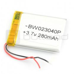 Akumulator Li-Poly 280 mAh 3.7