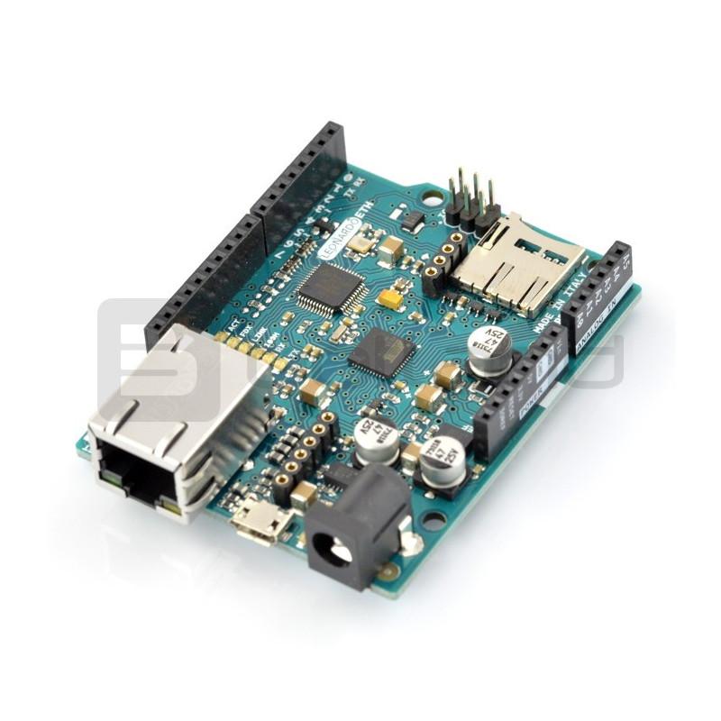 Arduino Leonardo Ethernet