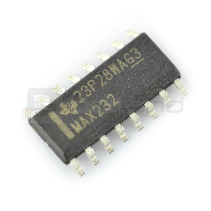 MAX232ESE converter - SMD_