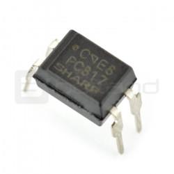 Transoptor jednokanałowy PC817 - THT