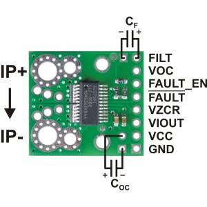 Wyprowadzenia czujnika prądu ACS709