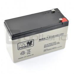 Akumulator żelowy AGM mws 12V/7,2Ah