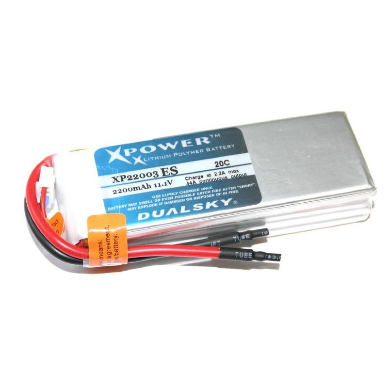 Package Li-Pol Dualsky 2200mAh 20C 3S 11.1V