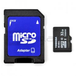 Karta pamięci Toshiba Professional micro SD / SDHC 32GB UHS-I klasa 10 z adapterem