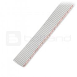 Przewód taśmowy 10 żył szary(50 cm) IDC raster 1,27 mm