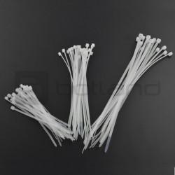 Opaski zaciskowe białe CT60W
