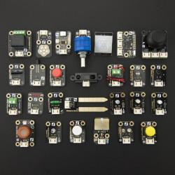 Zestaw 27 czujników z przewodami DFRobot do Arduino