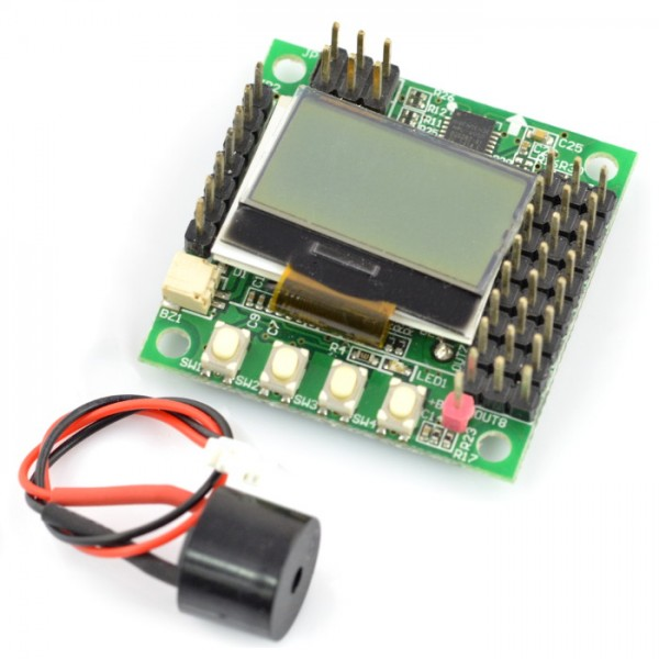 Flight controller KK-Mini Multi-rotor LCD + MPU-6050 accelerometer and  gyroscope_