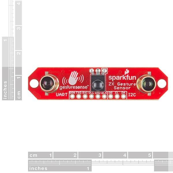 Czujnik odległości i gestów 25cm I2C/UART - SparkFun