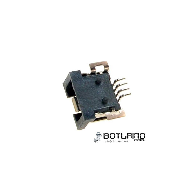 MiniUSB socket type A - SMD