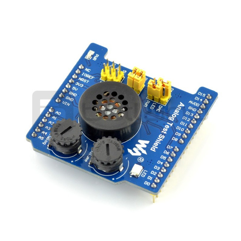 Analog Test ADC/DAC Shield dla Arduino