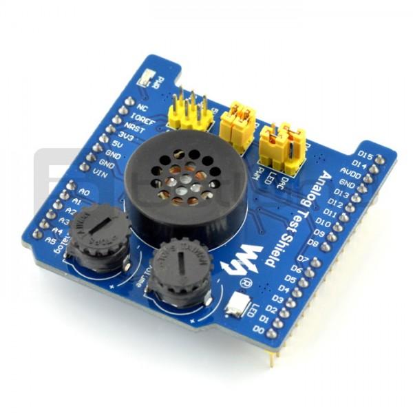 Analog Test ADC/DAC Shield dla Arduino
