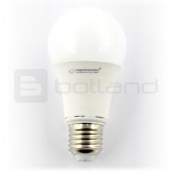 Żarówka LED Esperanza, bańka mleczna, E27, 10W, 900lm, barwa ciepła