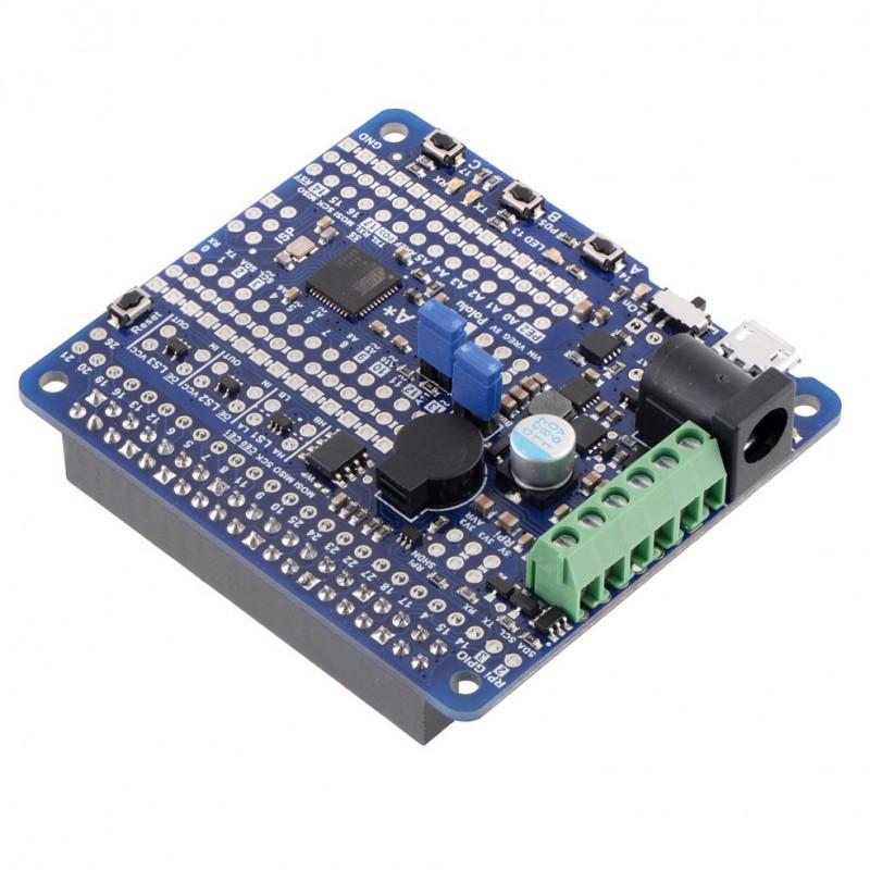 A-Star 32U4 Robot Controller LV 11V - rozszerzenie do Raspberry Pi - Pololu 3117