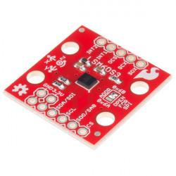 LSM6DS3 3-osiowy akcelerometr i żyroskop I2C/SPI - moduł SparkFun